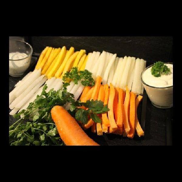 Dips aux légumes