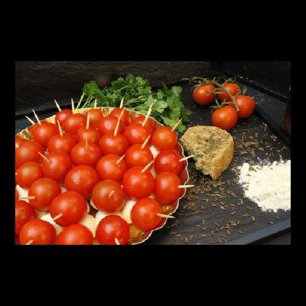 Assiette de tomate mozzareline